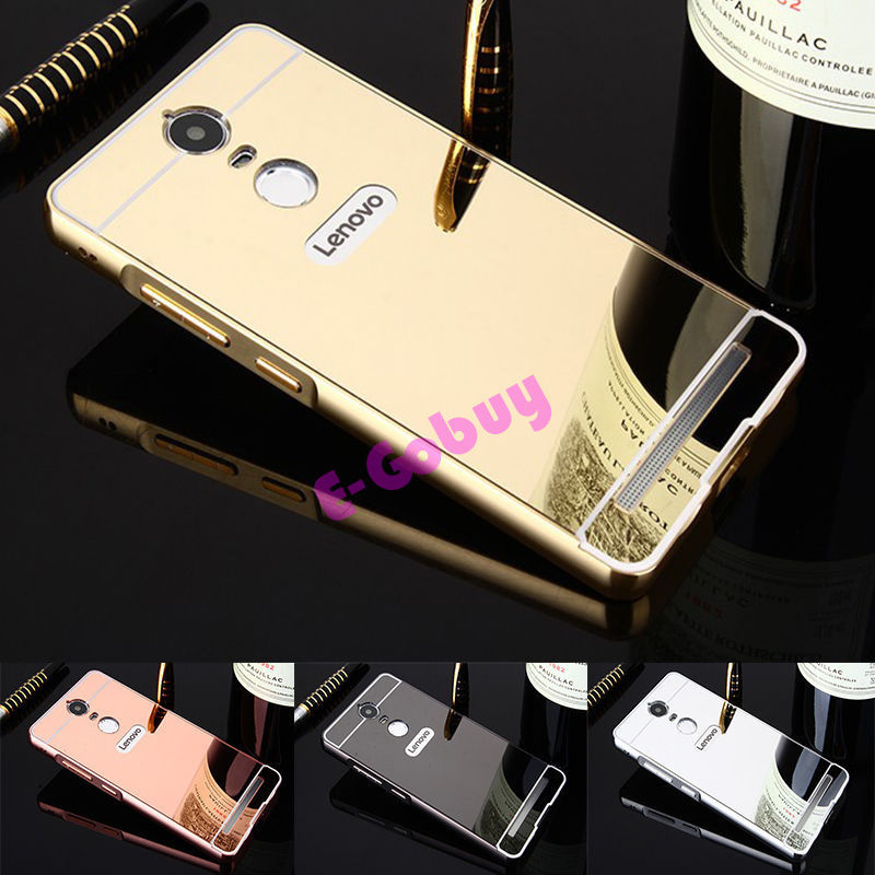 timeless design d6184 04593 4.94AUD - For Lenovo K5 Note Cover Luxury Gold Mirror Cover Case For ...