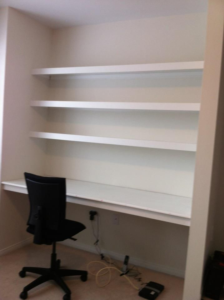 Turning A Closet Into A Home Office Home Office Closet