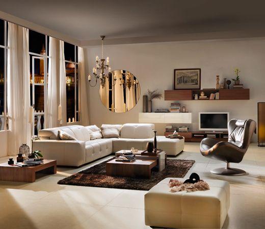 Casas elegantes y modernas b squeda de google salas for Decoracion de salas clasicas elegantes
