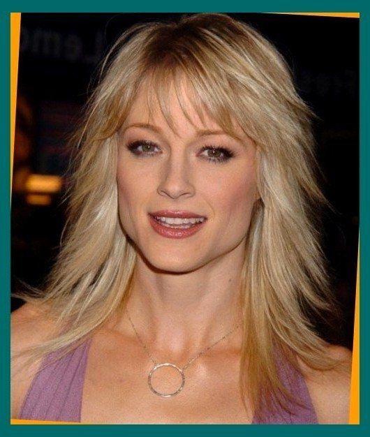 Hairstyles For Medium Length Hair With Bangs A She