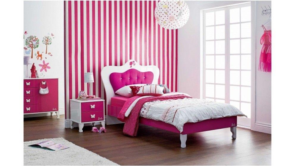 Barbie Themed Barbie Bedroom Pink Bedroom Furniture Barbie