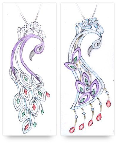 Single loop pendant on the left has a weak top part which is killing jewelry illustration audiocablefo