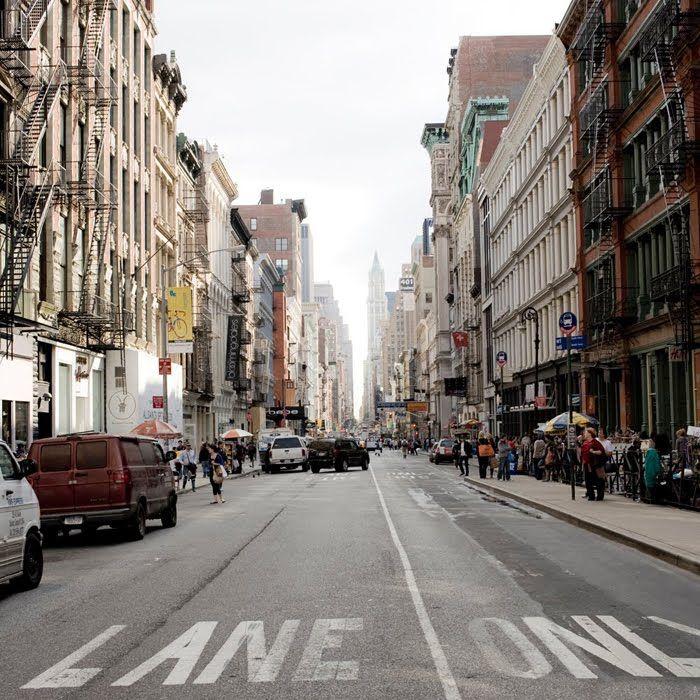 I like the street