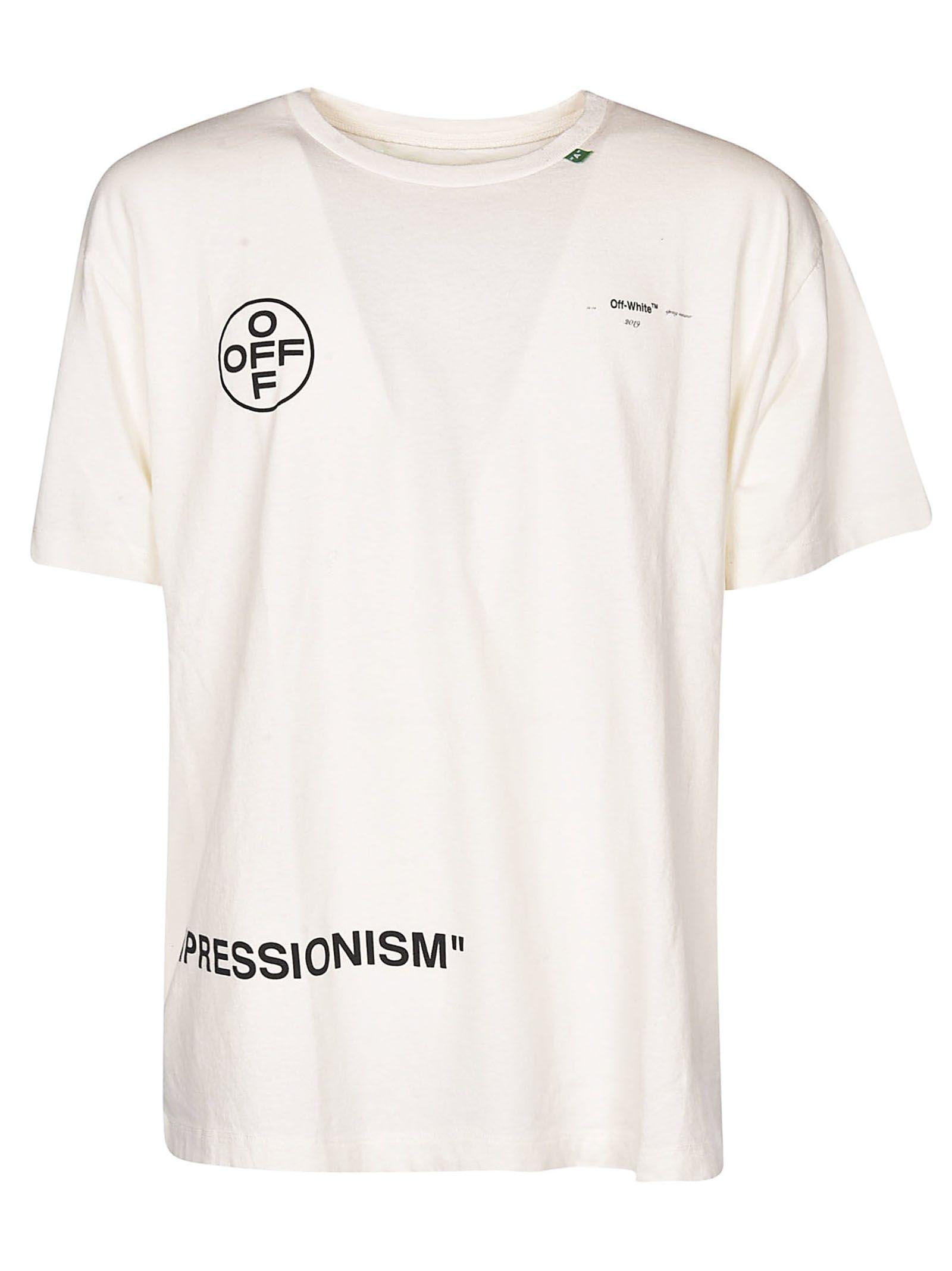 a66ca6b9 OFF-WHITE OFF-WHITE IMPRESSIONISM PRINT T-SHIRT. #off-white #cloth ...