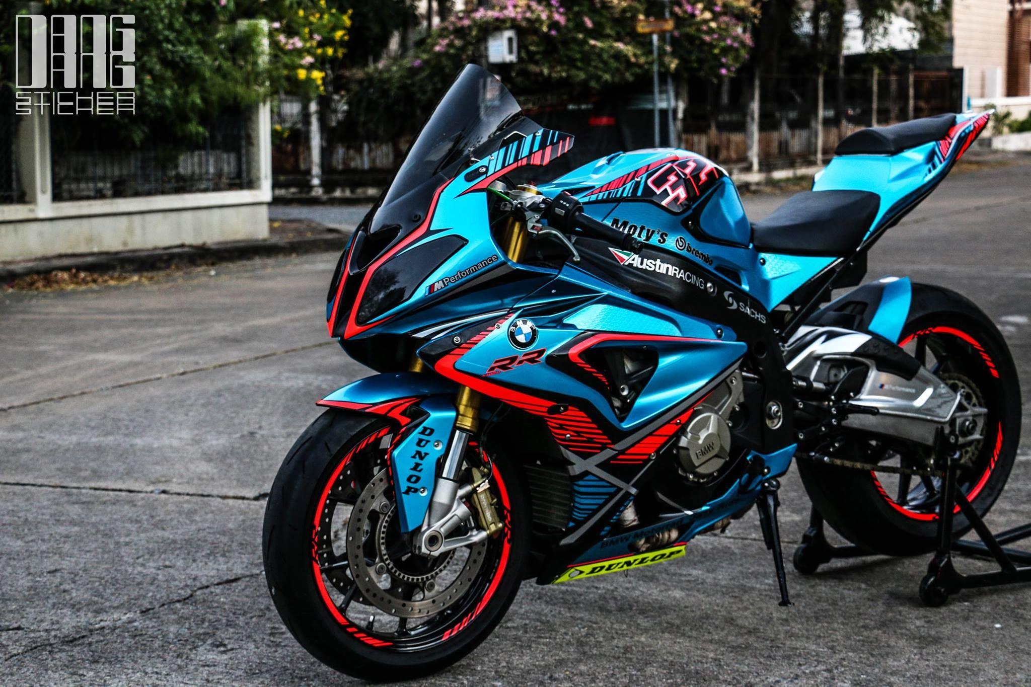 Bmw S1000rr Custom By Dang Sticker Bmw S1000rr Bike Bmw Sports Bikes Motorcycles