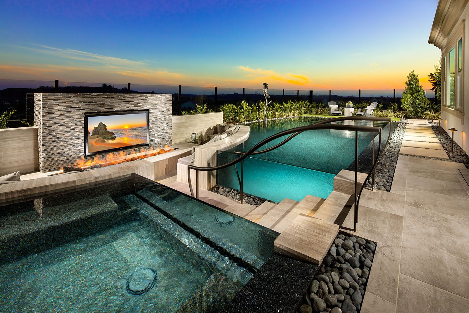 Perfect example of a backyard oasis. Start building yours ...