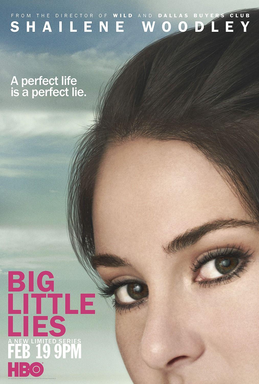 Big Little Lies Poster Shailene Woodley Big Little Lies Pretty Little Lies Big Little