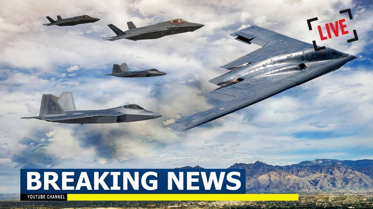 Revealed US Air Force Drills With B2, F35, F22