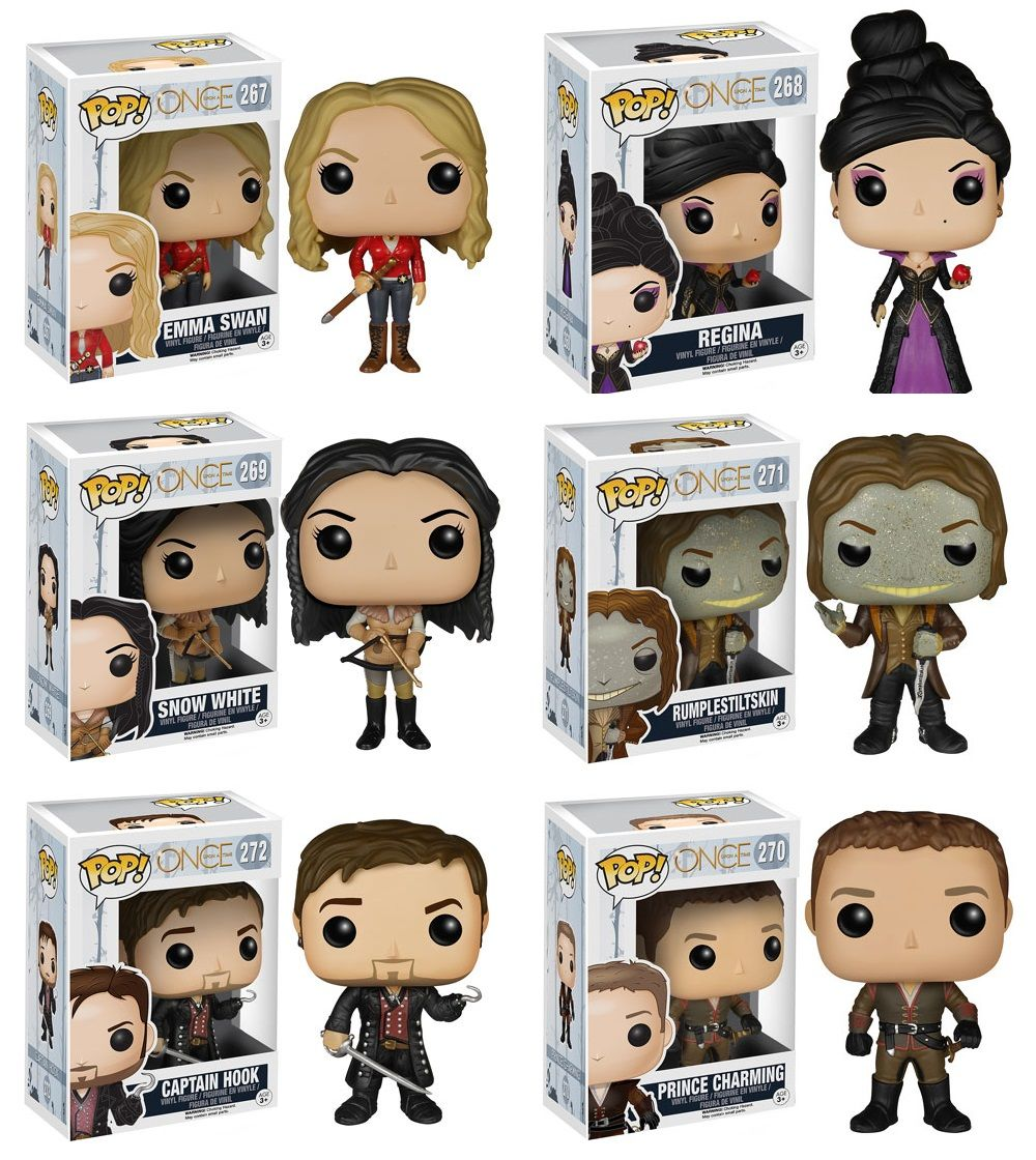 Once Upon a Time REGINA Vinyl Action Figures 268# 2019 With Box New FUNKO POP