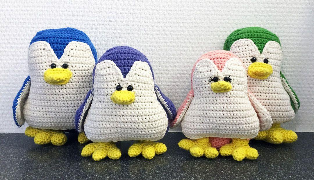 Gratis Haakpatroon Pinguïns Crochet Toys Pinterest