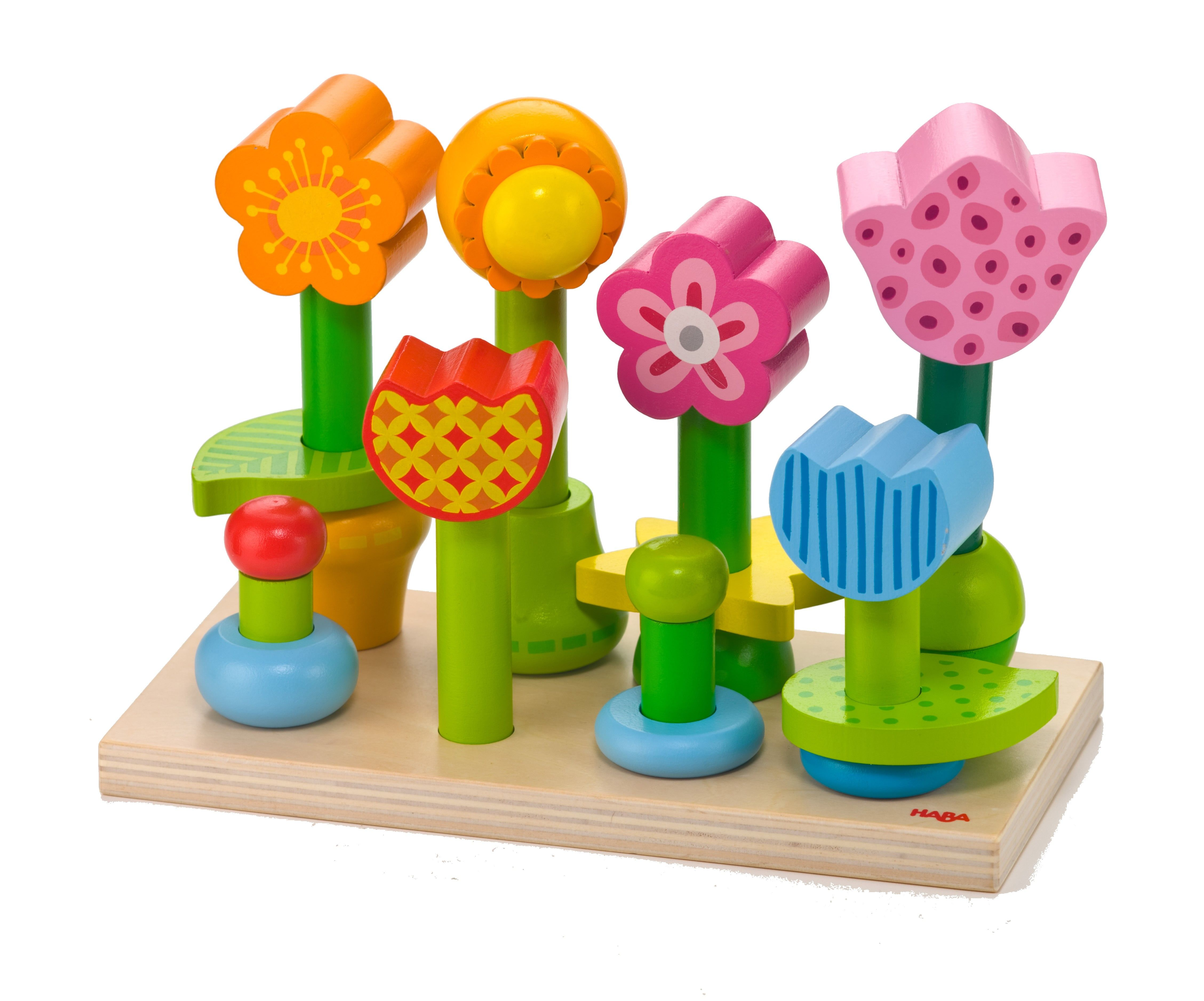 Bonita Garden   Wooden Pegging Set | HABA USA