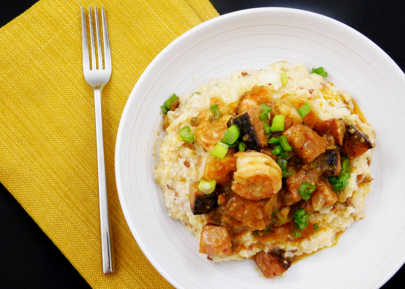 Order Chef Simone's Low Country Shrimp and Loaded Grits for $10 on mytable.org