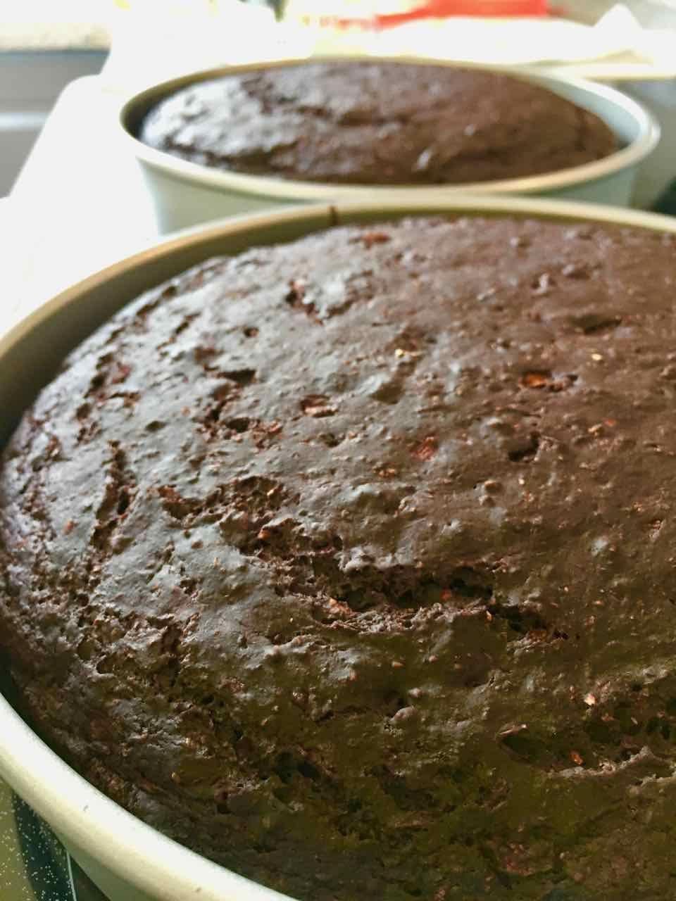 Healthy Aqua Faba Vegan Chocolate Birthday Cake Fat Free Whole Wheat