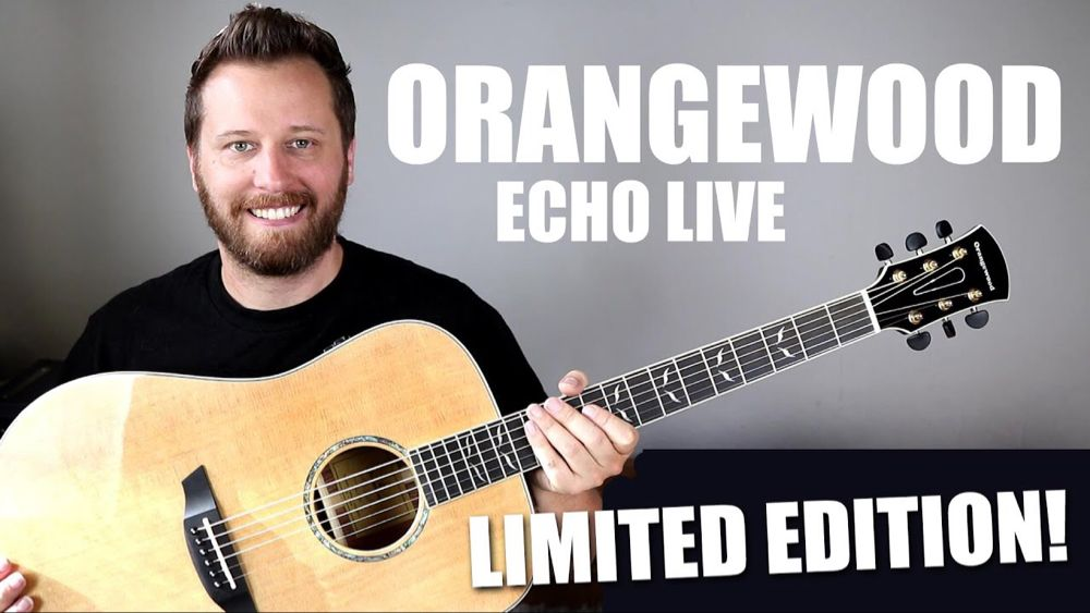 Limited Edition Orangewood Echo Checking Out The New Features Youtube Guitar Reviews Edition Limited Editions