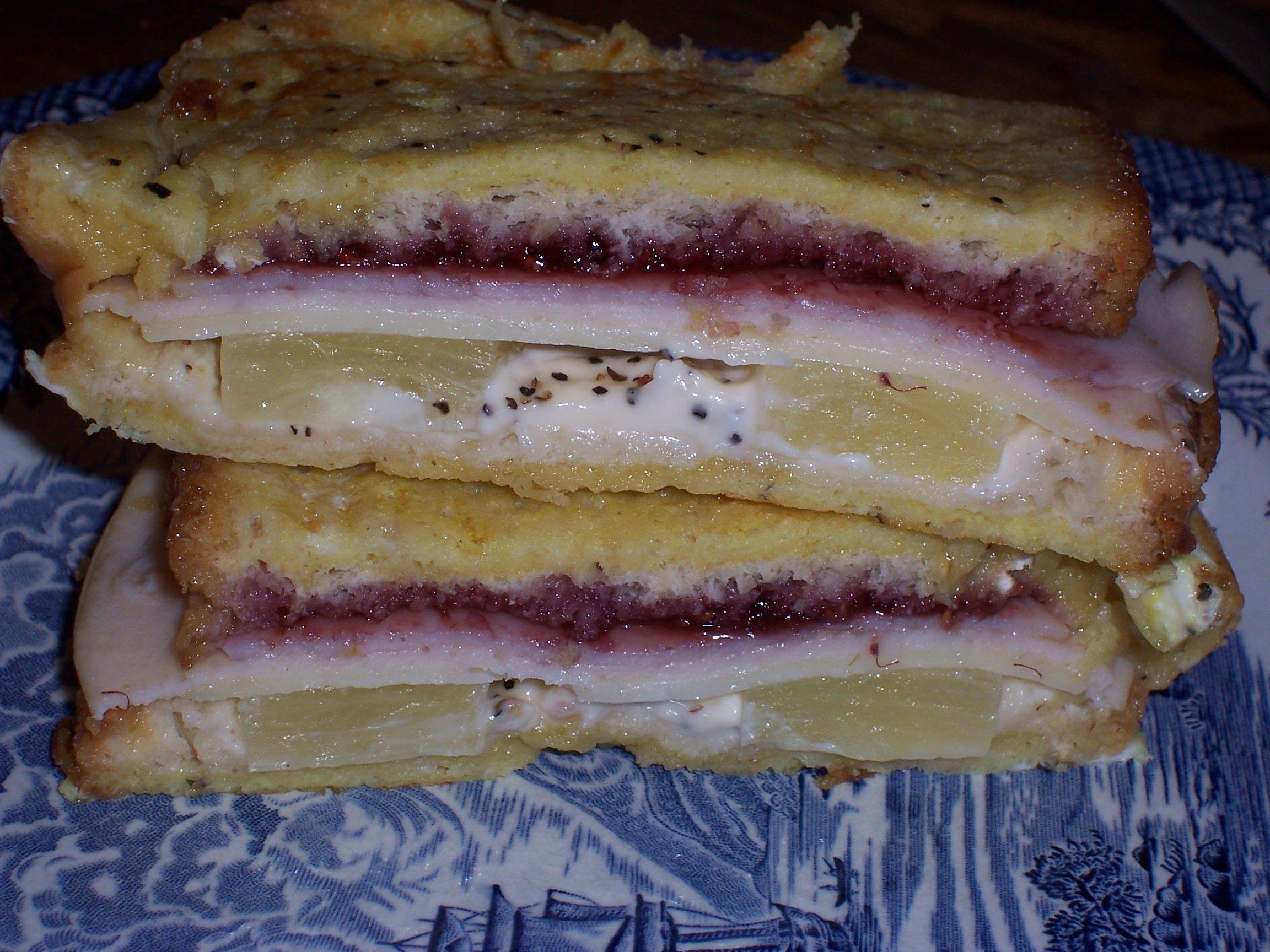 Marco Polo Sandwich | Recipe | Pinterest | Marco polo, Grilling and Egg