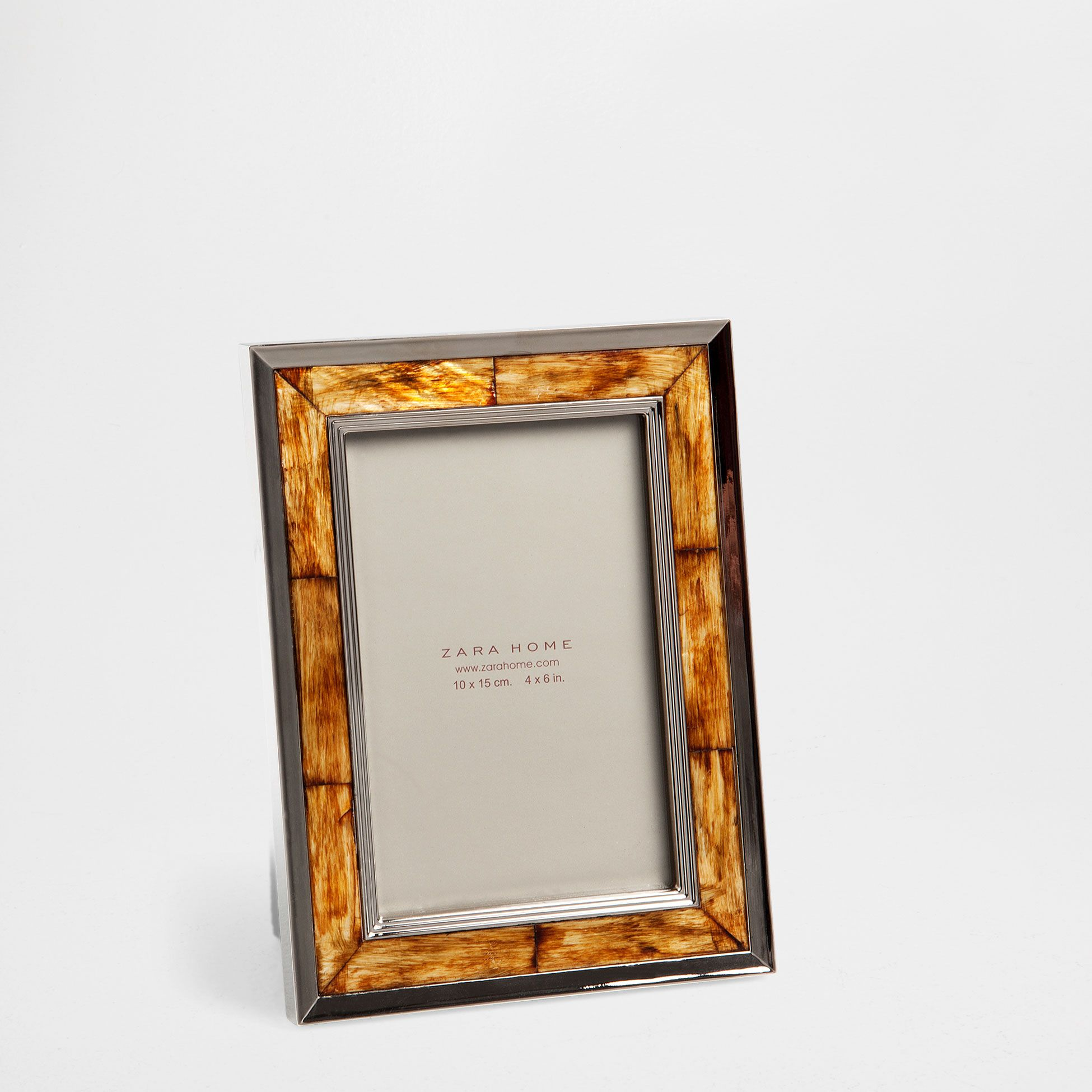 Marco metal y bambú - Marcos - Decoración | Zara Home España | Home ...