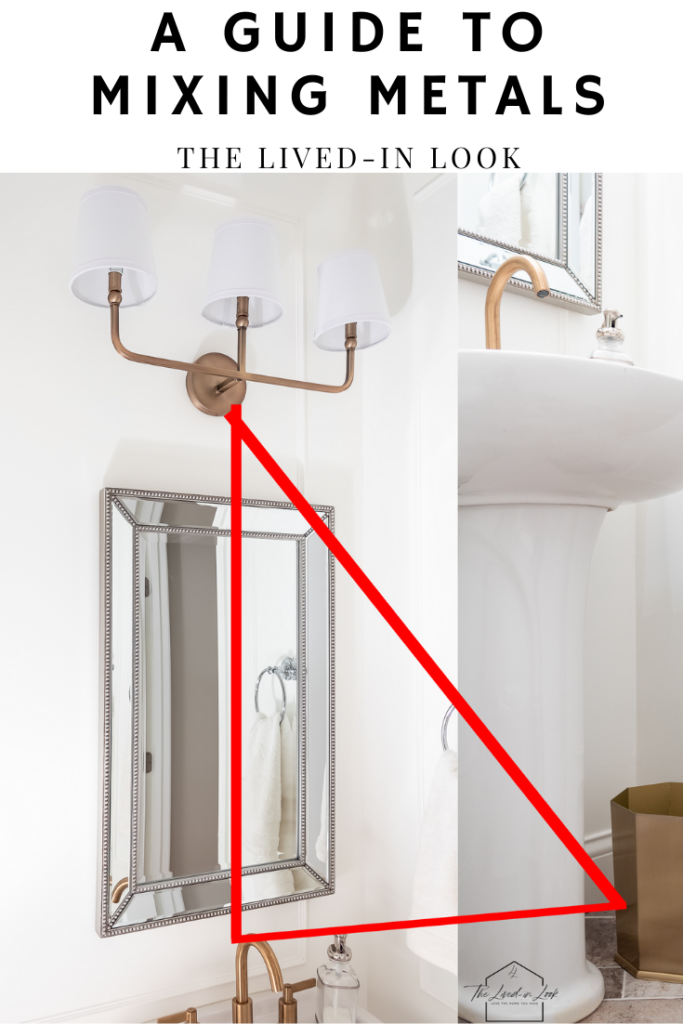 Photo of A Guide to Mixing Metals in The Bathroom The Lived-In Look
