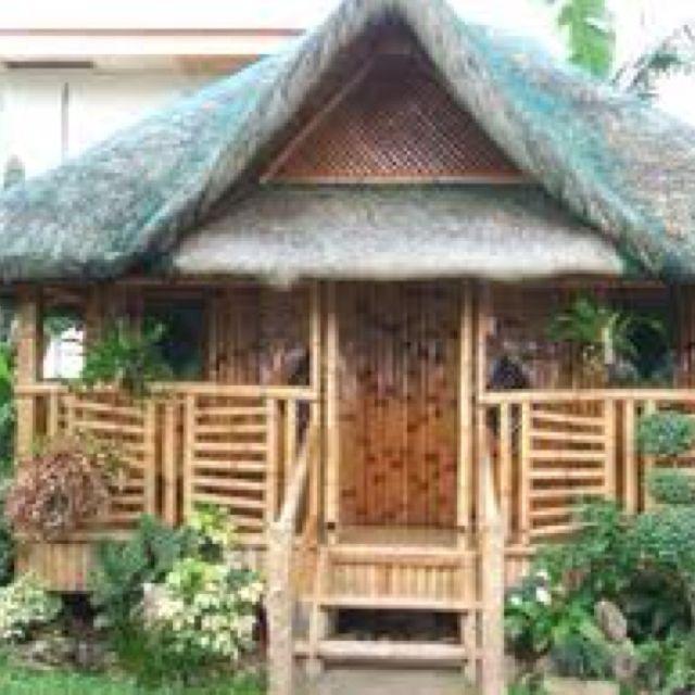 Nipa Hut Bambu Projetos De Pvc Artesanato Com Bambu