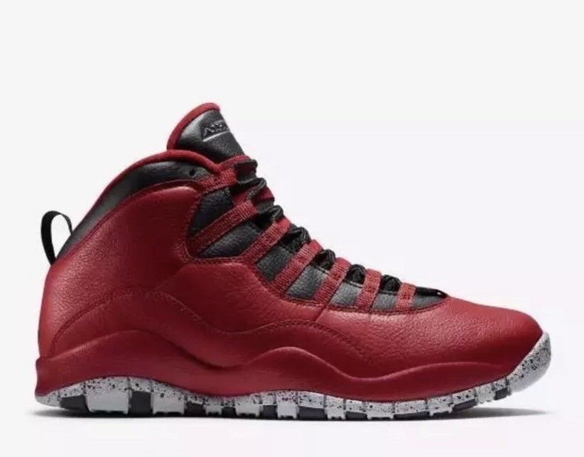 8ece8745700 2015 Nike Air Jordan 10 Retro 30th BG SZ 6C Bulls over Broadway Red  705179-601 #fashion #clothing #shoes #accessories #kidsclothingshoesaccs  #boysshoes ...