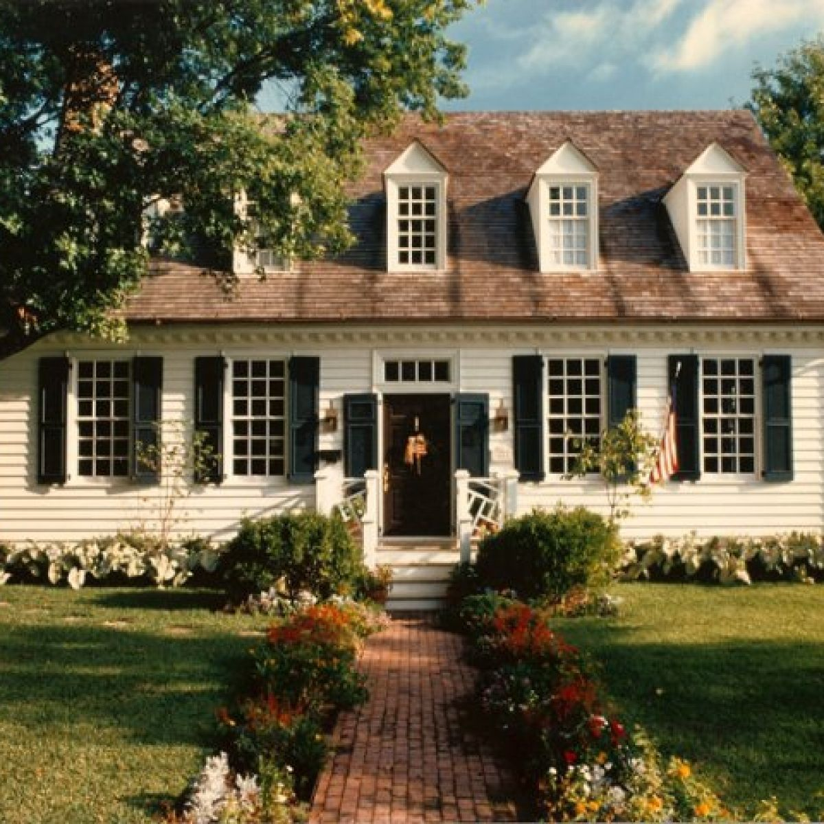 Historical Williamsburg Design By Steve Chambers Registered Architect In Texas And Oklahoma Colonial House Exteriors Colonial House Plans Colonial House