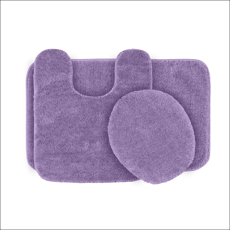 Lavender Bathroom Rugs Plush Bath Rugs Bath Rugs Sets Rug Sets [ 1500 x 1500 Pixel ]