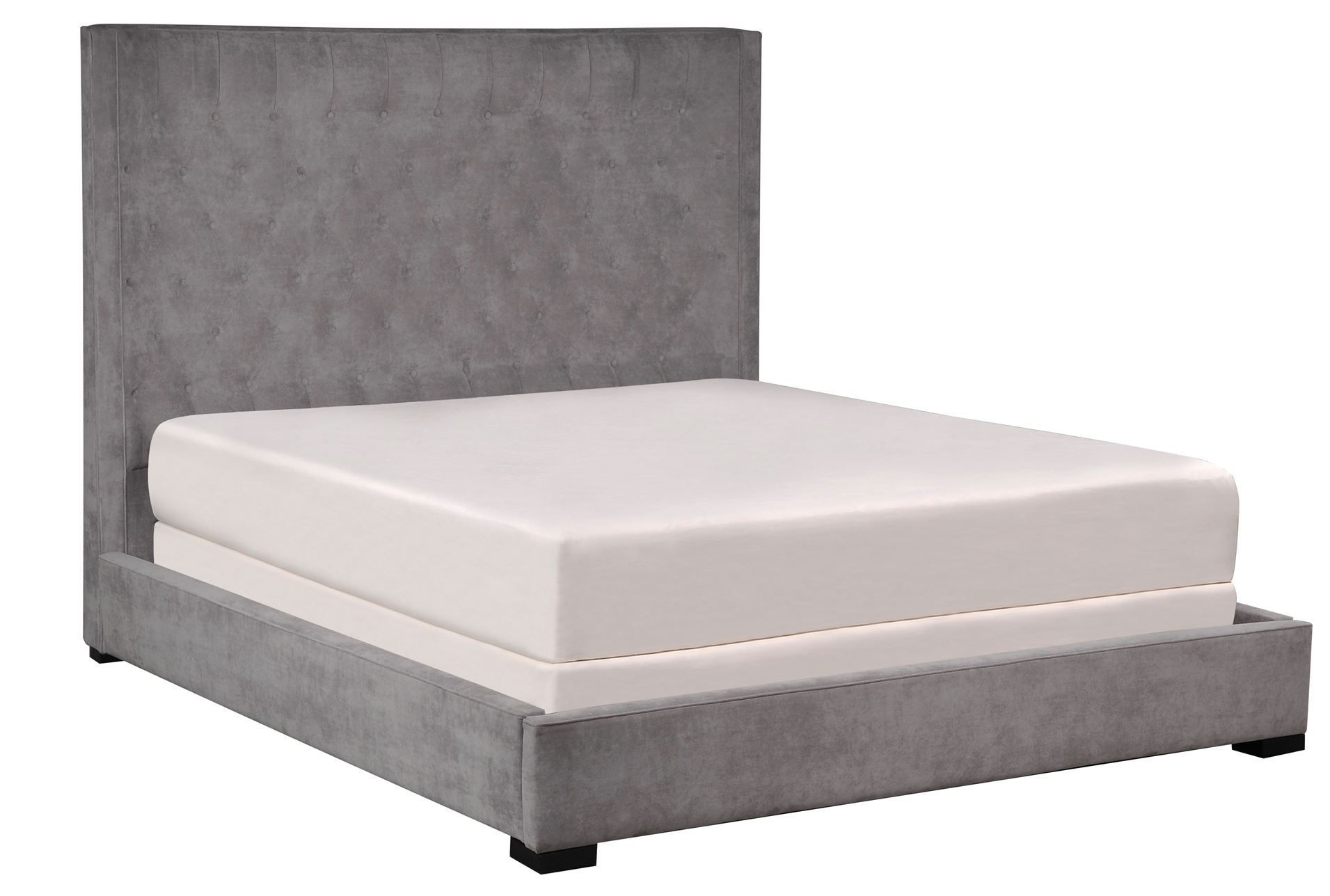 Madeline California King Upholstered Panel Bed Signature