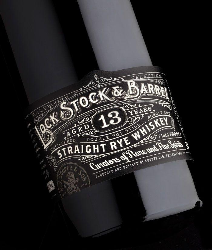 Lock Stock & Barrel by Stranger & Stranger in Package Design Inspiration for December 2013