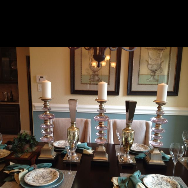 Home Staging Dining Room Table: Farmhouse Kitchen Decor, Room