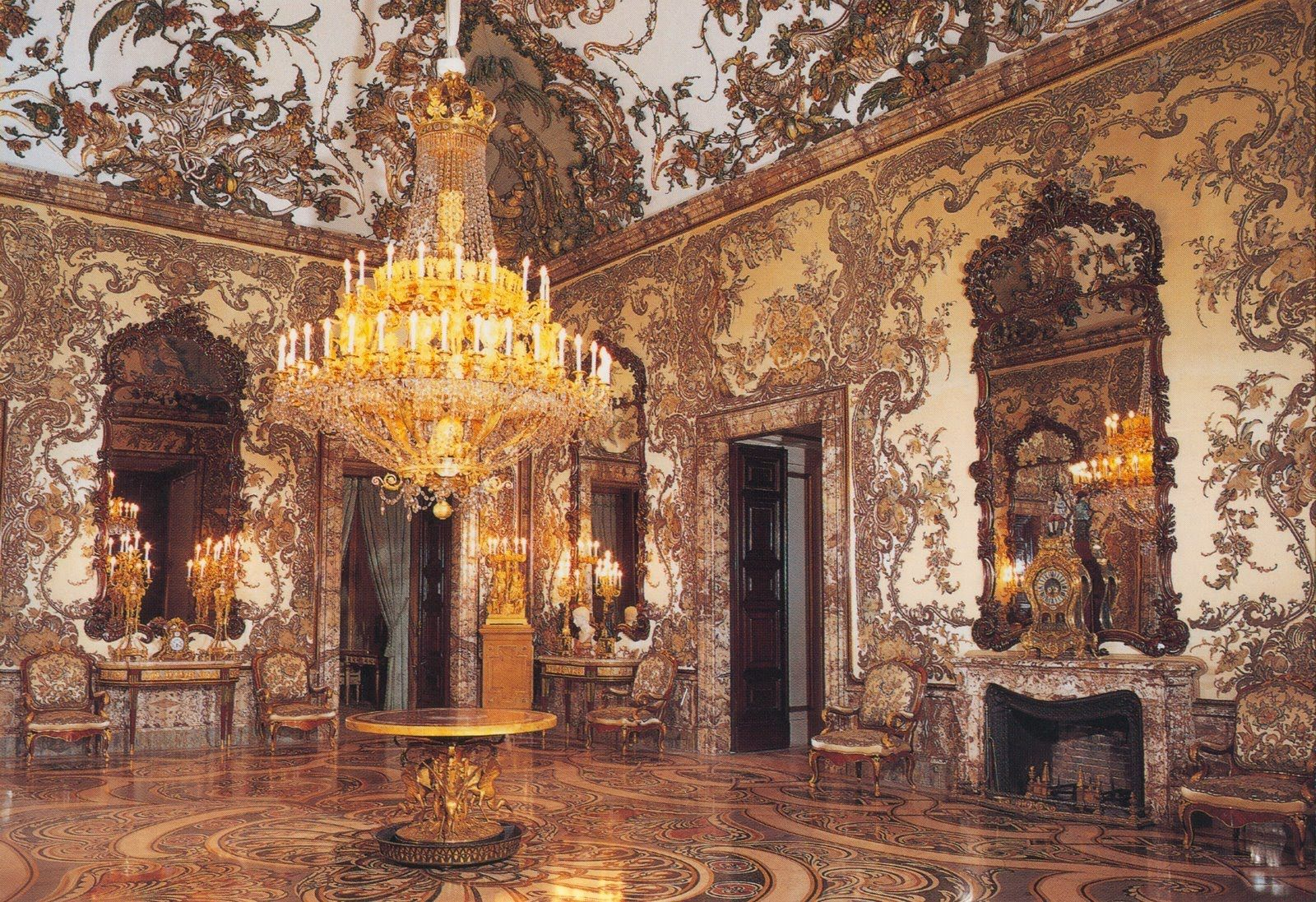 Palaces Of God And Man Palace Interior Inside Castles Madrid