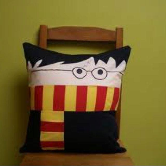 Harry Potter pillow!!!