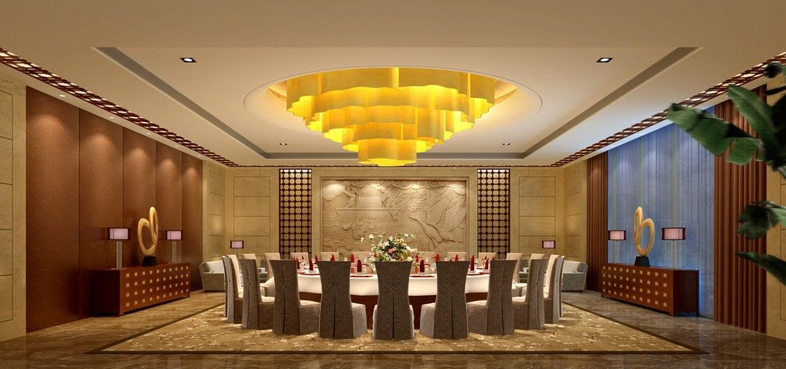 Chinese Dining Room For Vip Banquet