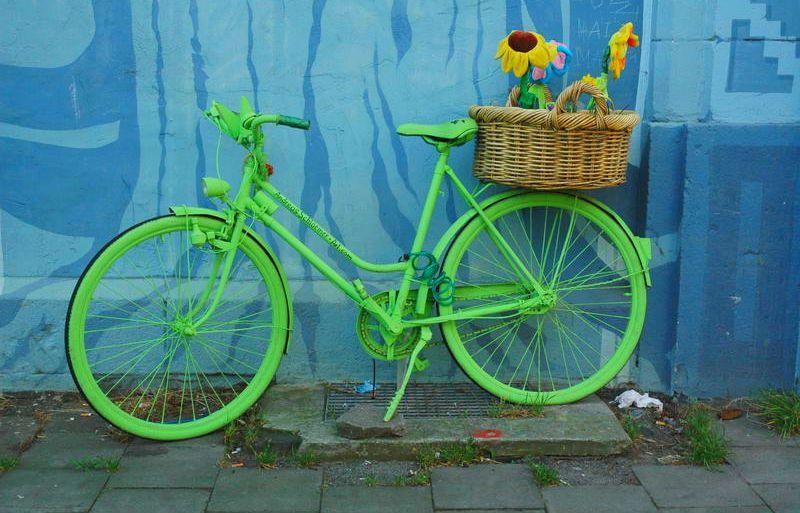 Statt Museum Mit Dem Fahrrad Unterwegs In Sachen Urban Art Groen
