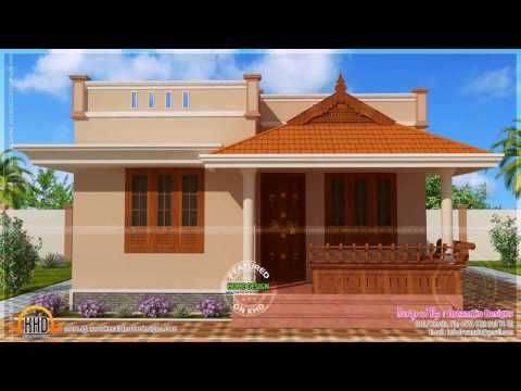 Indian Style Small House Designs Under 10 Lacks Home Pictures Easy Tips Small House Design Plans Village House Design Kerala House Design