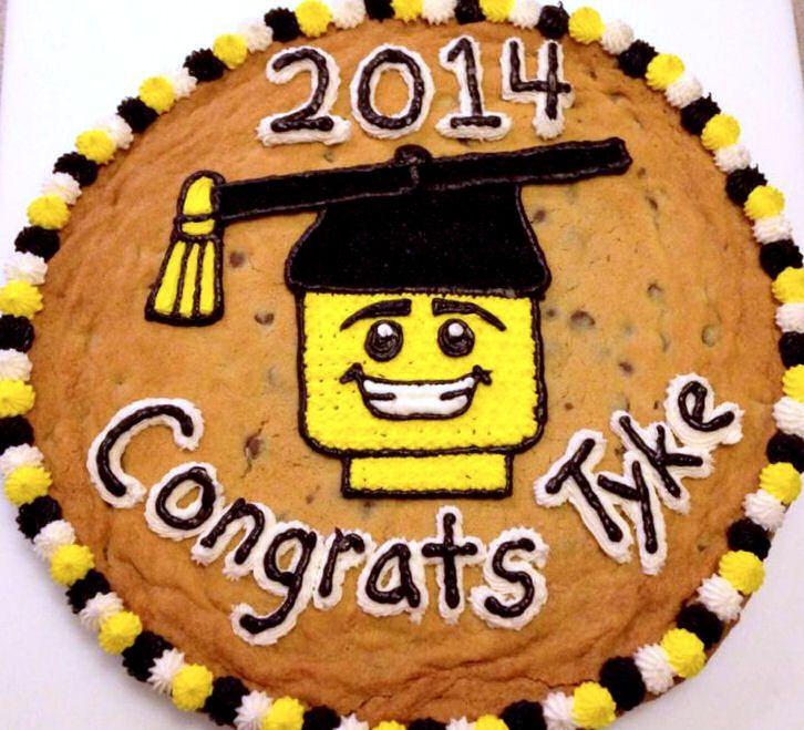Lego Minifigure Cookie Cake Lego Cookie Cake Graduation Lego