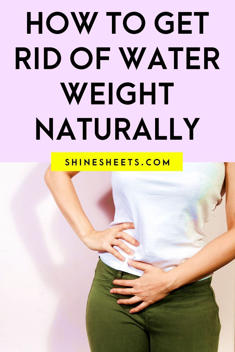 How To Get Rid Of Water Weight Naturally in 7  Lose water