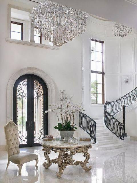 Elegant Marble Foyers : Follow elegant residences on pinterest here http