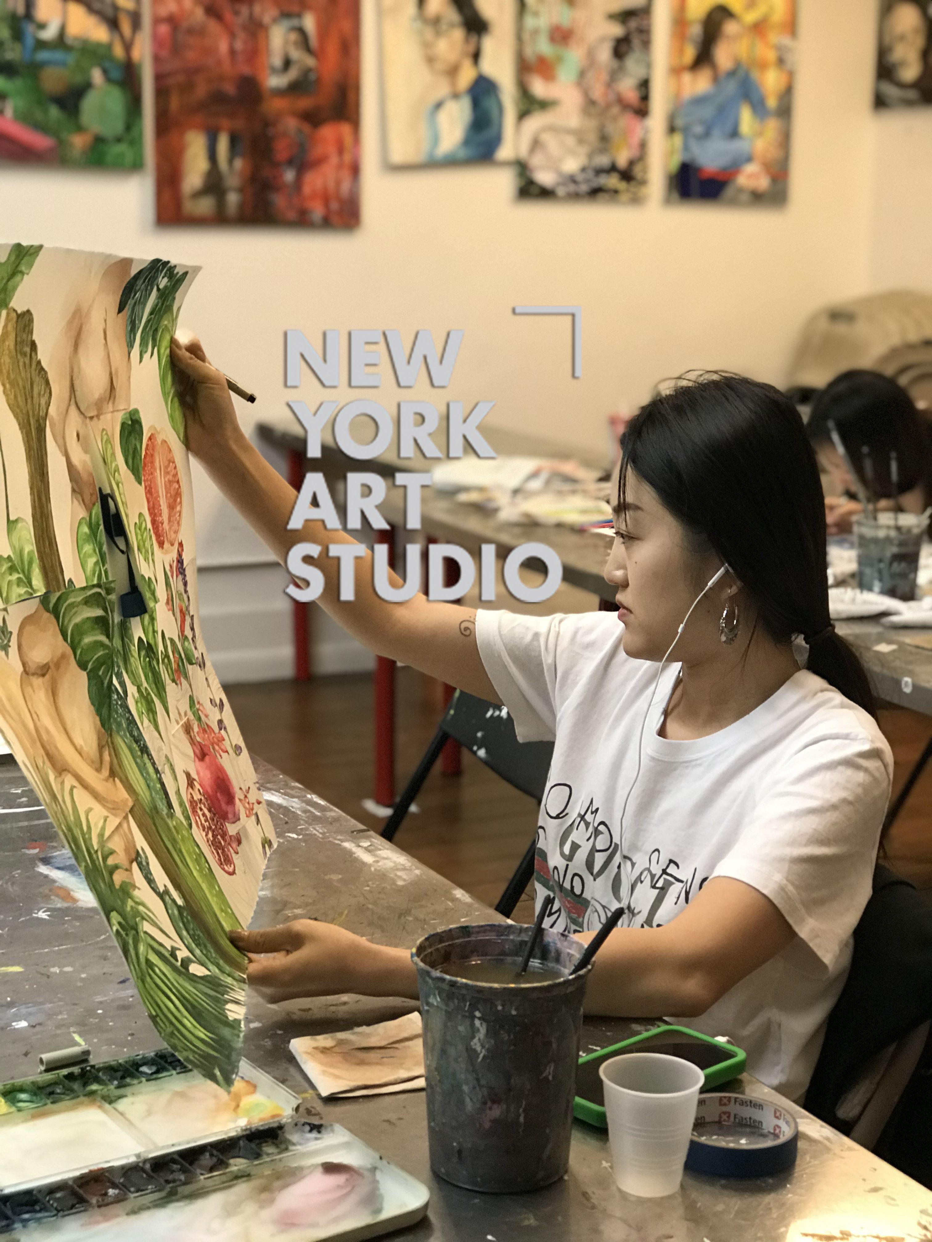 Watercolor Painting Undergraduate Portfolio Prep Class