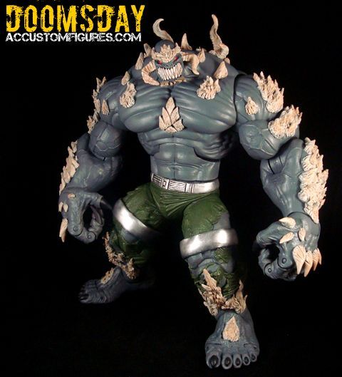 Doomsday New 52 Dc Universe Custom Action Figure Custom Action