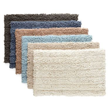 Chenille Lines Bath Rug Collection Jcpenney Bath Rug