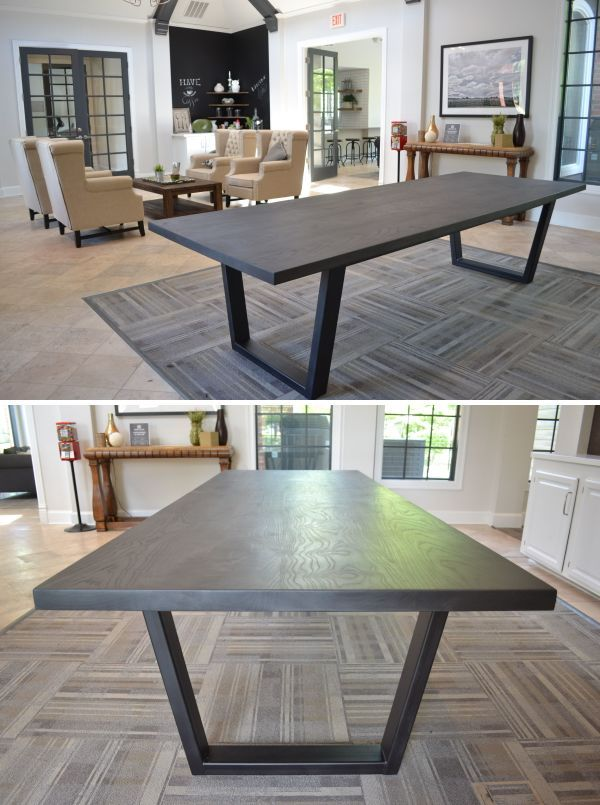 tables black ash industrial table in 2020 industrial on modern farmhouse patio furniture coffee tables id=23764