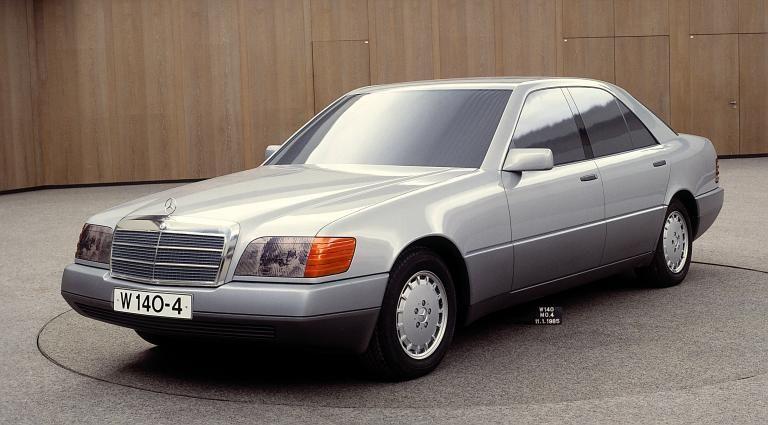 Mercedes Benz S Klass W140 Mockup From 1985 Avtomobil Avtomobili Klassiki