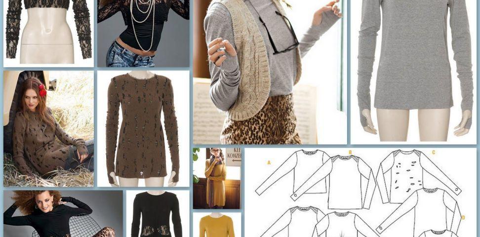 Patrón Camiseta mini-vestido | abrigos | Pinterest | Patrones ...