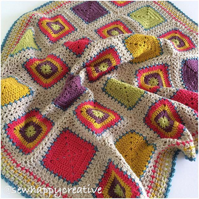 Available in our Etsy Shop Festiva block blanket in bright shades ! 💜😊#sewhappycreative #sewhappycreativ #crochet #stylecraftspecialdk #grannysquare #crocheteveryday #instacrochet #handmadeisbetter #crochetgirlgang #makersgonnamake #babyblanket #crochetblanket #shophandmade #shopsmall #smallbusiness #crochetersofinstagram #crocheteveryday #craftstherapy #craftsposure #creativelifehappylife #yarn #yarnstash #colour #etsy #etsysellersofinstagram
