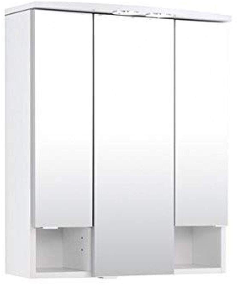 Held Mobel 180 0001 Neapel Spiegelschrank 3 Turig 4 Glas