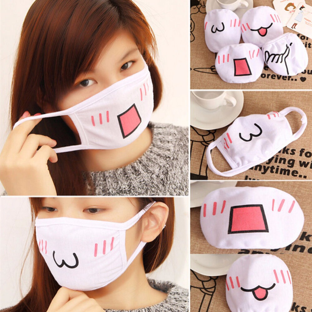 1pc Kawaii Anti Dust Mask Cute Anime Na01 In 2020 Winter Face Mask Dust Mask Mouth Mask Fashion