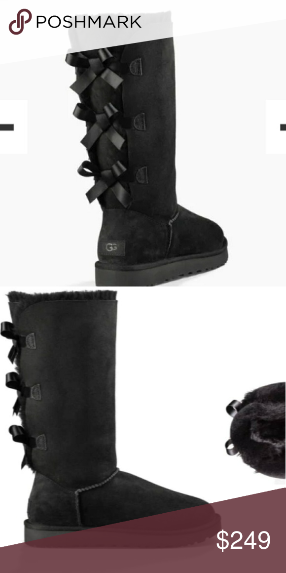 9708caad2a2 UGG Bailey Bow Tall II Brand new. Many sizes! UGG Shoes Winter ...