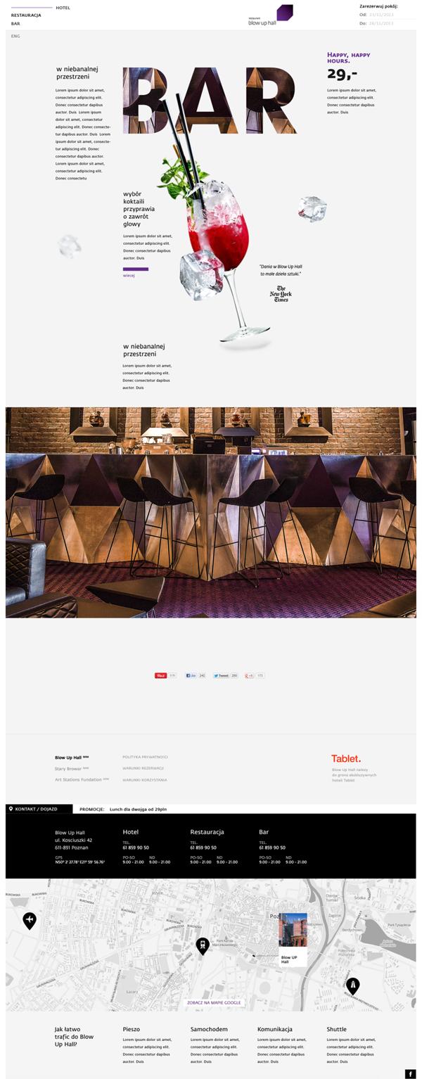 Blow Up Hall On Web Design Served Web Design Logo Website Design Layout Fun Website Design