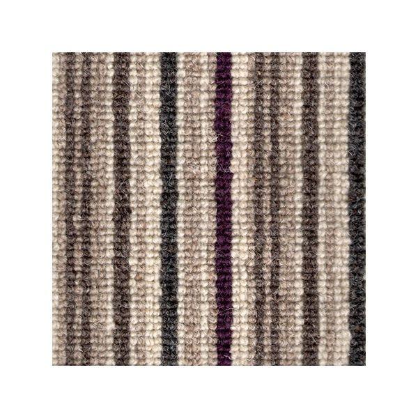 Kingsmead Carpets Kaleidoscope Eggplant 100 Wool Loop Pile