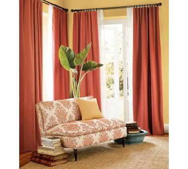 I Like The Sheer Curtain Panels Behind The Heavy Drapes  Especially If I Use