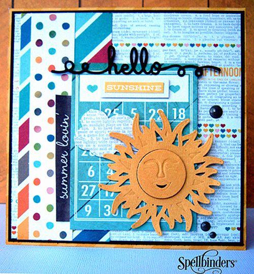 Hello Sunshine Card 2 by Marielle LeBlanc